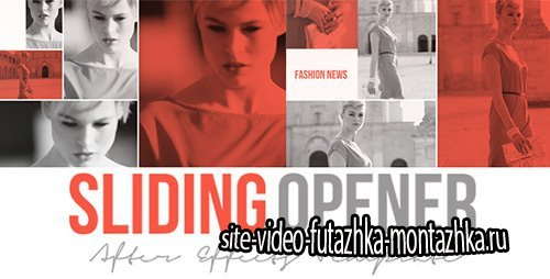 Sliding Opener - Project for After Effects (Videohive)