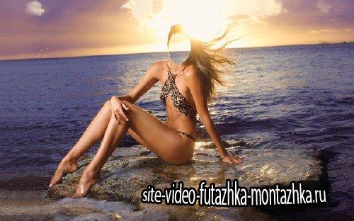 Шаблон для Photoshop - Морская фотосессия