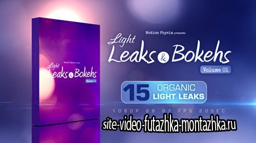 Light Leaks and Bokehs Vol 1 - Motion Graphics (Videohive)