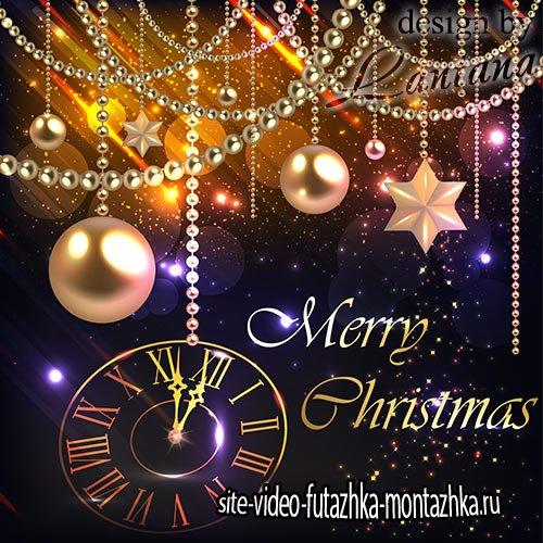 PSD исходник - Волшебный праздник новогодний 24