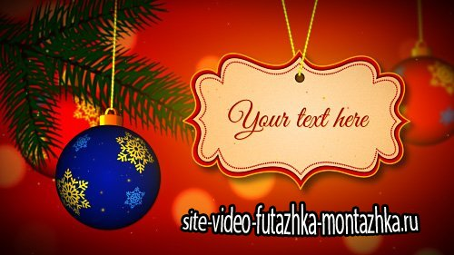 4K, Full Hd And Hd Winter Holidays Merry Christmas And Happy New Year V2 - Project for After Effects (Pond5)