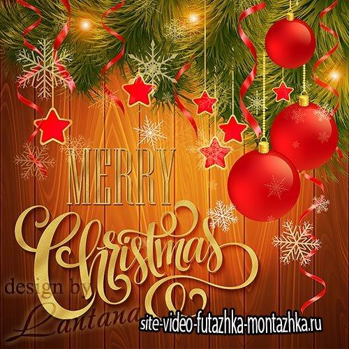 PSD исходник - Волшебный праздник новогодний 32