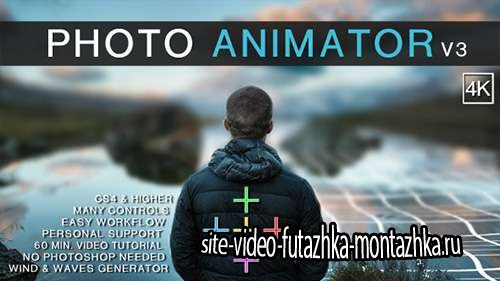 Photo Animator V3 - Project for After Effects (Videohive)
