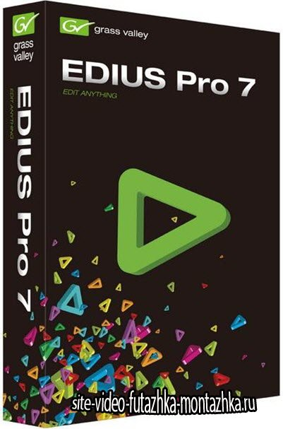 Grass Valley EDIUS Pro 7.51 Build 55 (x64/ML/ENG)
