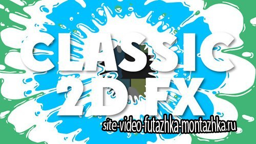 Professional 2D FX Elements - Project for After Effects (Videohive)