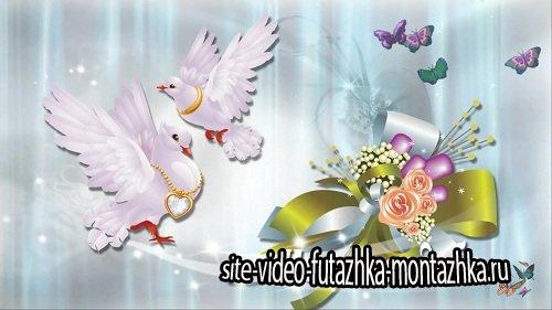 Видео футаж HD - Свадебный / Wedding