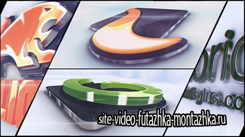 Glossy 3D Corporate Logo - Project for After Effects (Videohive)