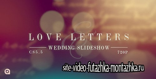 Love Letters Slideshow - Project for After Effects (Videohive)