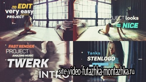Twerk Intro - Project for After Effects (Videohive)