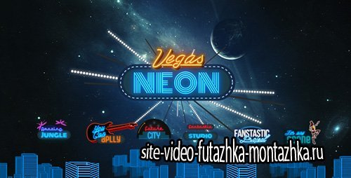Vegas Neon - Project for After Effects (Videohive)