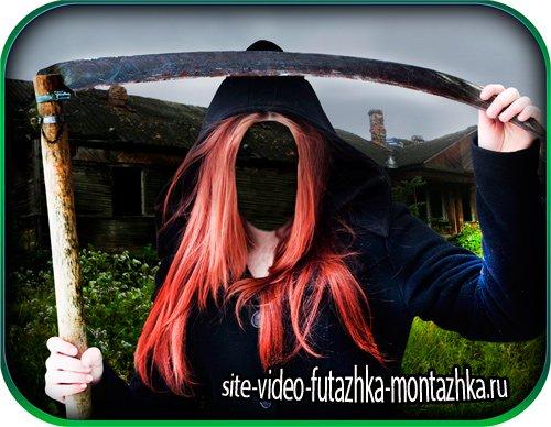 Женский шаблон - Молодая ведьма