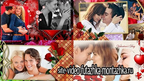 Gift on Valentine's Day - Проект ProShow Producer