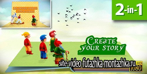 Pop-up Book Creator - Project for After Effects (Videohive)