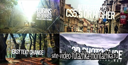 3D Slide Photo - Project for After Effects (Videohive)