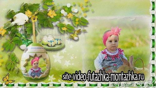 Happy Easter 2016 - Project for Proshow Producer