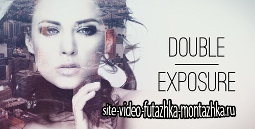 Double Exposure Parallax Titles - Project for After Effects (Videohive)
