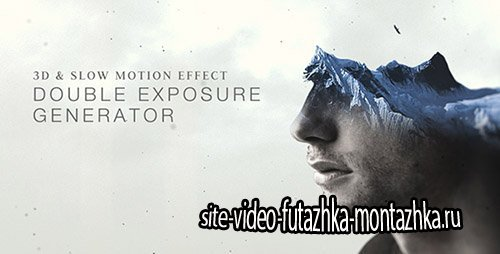 Double Exposure Generator - Project for After Effects (Videohive)