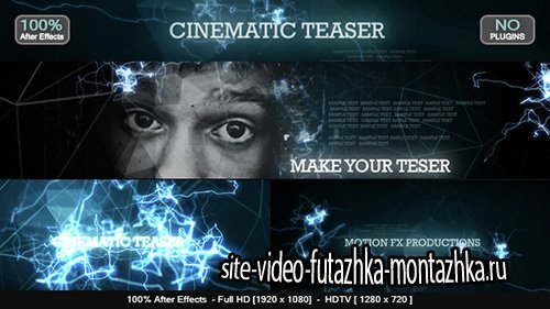 Cinematic Teaser - Project for After Effects (Videohive)