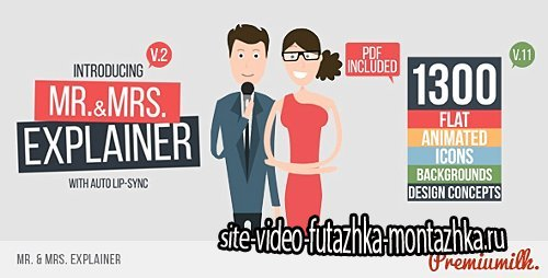 Mr&Mrs Explainer - Project for After Effects (Videohive)