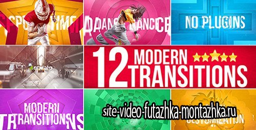 Modern Transitions - Project for After Effects (Videohive)