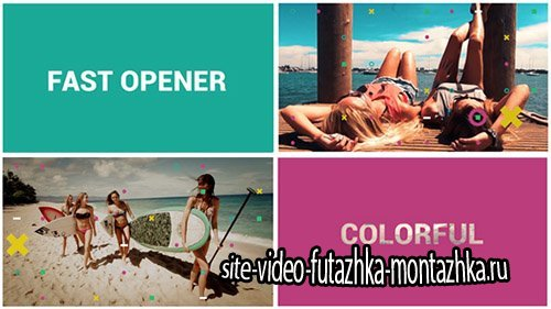 Fast Colorful Opener - Project for After Effects (Videohive)