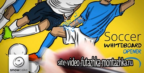 Soccer Whiteboard Opener - Project for After Effects (Videohive)