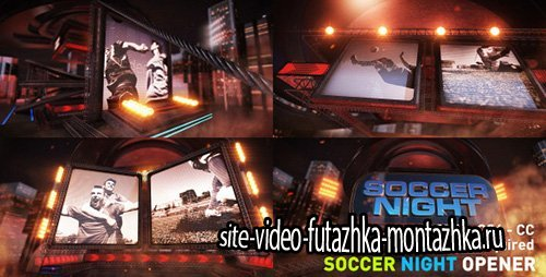 Soccer Night Opener - Project for After Effects (Videohive)