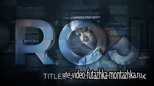 Titles Slideshow - Project for After Effects (Videohive)