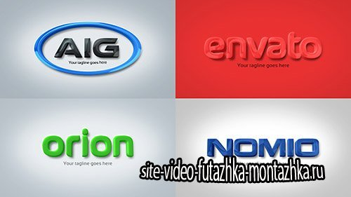 Strong & Clean Corporate 3D Embossed Logo - Project for After Effects (Videohive)