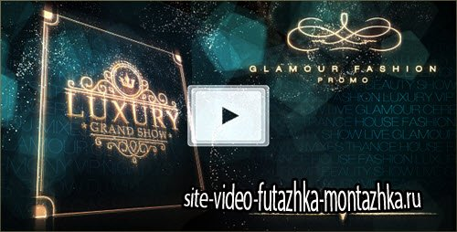Luxury Grand Show - Glamour Golden Promo - Project for After Effects (Videohive)