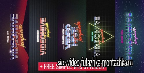5 VHS Title Opener Pack - Project for After Effects (Videohive)