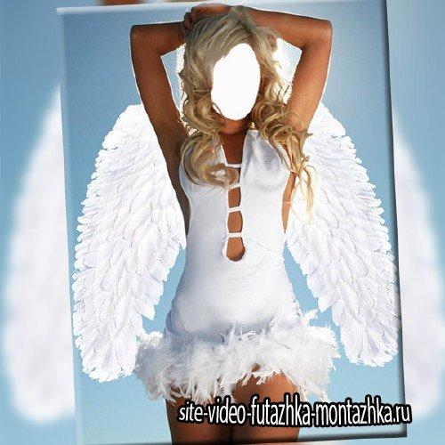 Шаблон psd женский - Просто ангел