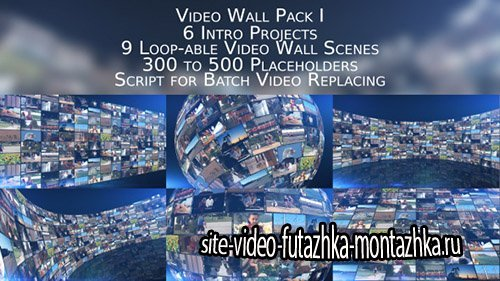 Video Wall Pack I - Project for After Effects (Videohive)