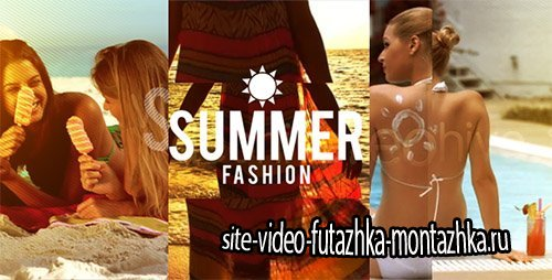 Summer Fashion - Project for After Effects (Videohive)