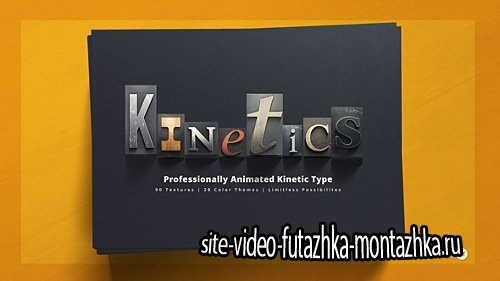 Kinetics | Professional Kinetic Typography System - Project for After Effects (Videohive)