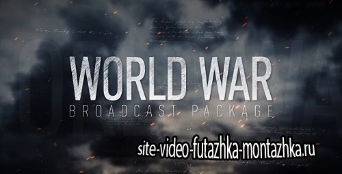 World War Broadcast Package - Project for After Effects (Videohive)