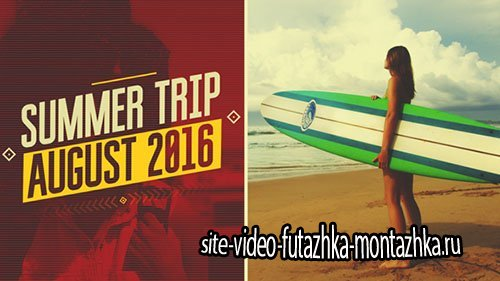 Summer Trip - Project for After Effects (Videohive)