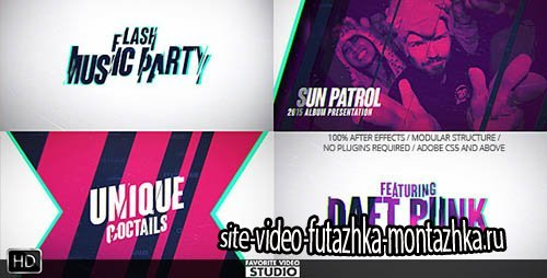 Flash Music Event - Project for After Effects (Videohive)