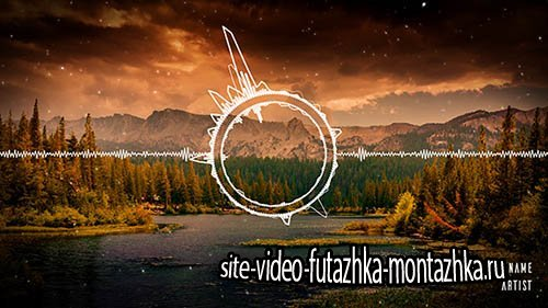 Clean Audio Spectrum Music Visualizer - Project for After Effects (Videohive)