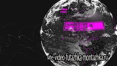 3d Element Dark Planet - Project for After Effects (Videohive)