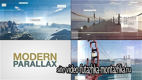 Modern Parallax Slideshow - Project for After Effects (Videohive)