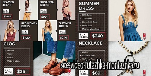 Luxory Shop - Project for After Effects (Videohive)
