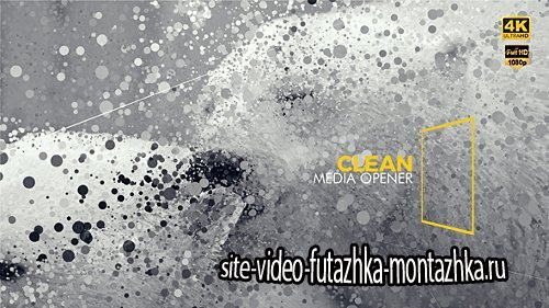 Clean Media Opener I Slideshow - Project for After Effects (Videohive)
