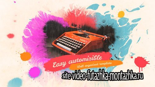 Colorful Ink Slideshow - Project for After Effects (Videohive)