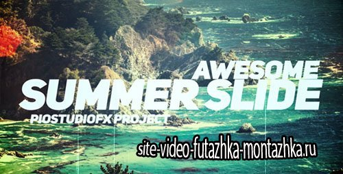 Awesome Summer Slide - Project for After Effects (Videohive)