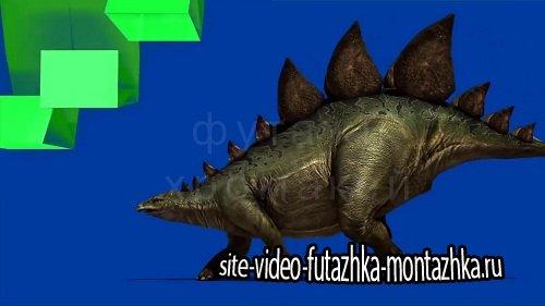 Футажи хромакей Динозавры