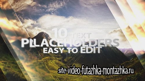 Glass Slideshow - After Effects Template