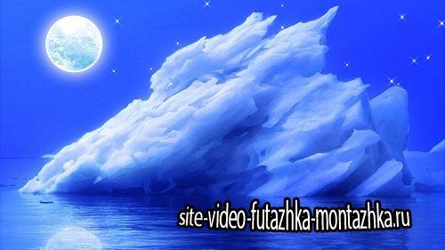 Видео футаж HD - Айсберг / Iceberg
