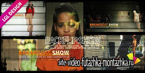 The House Backflip Show - Project for After Effects (Videohive)
