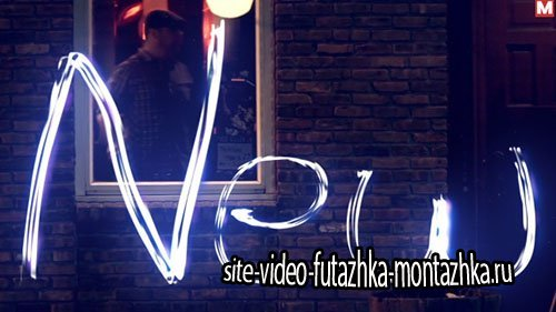 Light Trails Alphabet - Project for After Effects (Videohive)